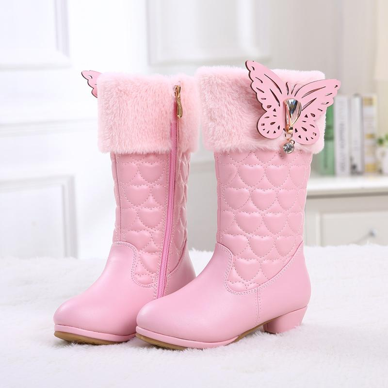 cee072dbbaec Girls  Boots Autumn And Winter Thigh Boot 2018 New Style Warm Korean Style  plus Velvet