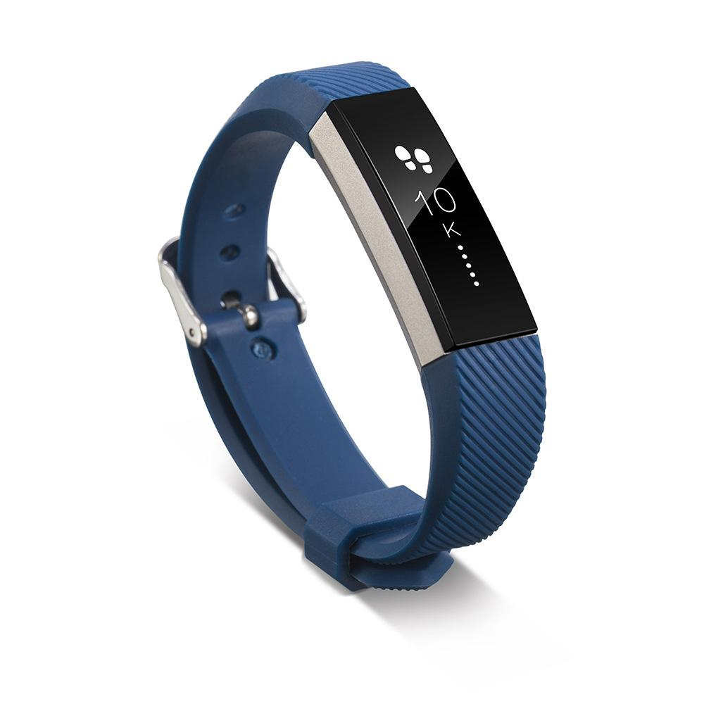 Silicone Replacement Classic Bands Available In Various Colors With Secure Buckle For Fitbit Alta Hr And Fitbit Alta By Ninepeaks.