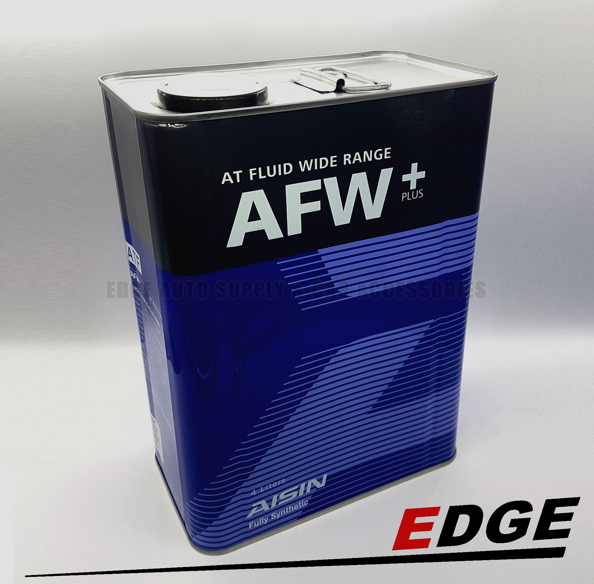 (ATF - AISIN - 4L) AISIN Fully Synthetic AT Fluid Wide Range AFW+ Automatic  Transmission Fluid ATF 4L or 1 Gallon