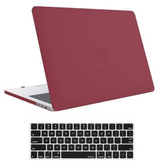 MacBook Pro 13 Case 2018 2017 2016 Release A1989/A1706/A1708, ProCase Hard Case Shell Cover and Keyboard Skin Cover for Apple Macbook Pro 13 Inch with/without Touch Bar and Touch ID