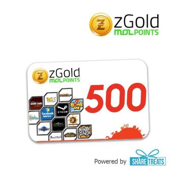 zGold MOL 500 Points SMS ePIN