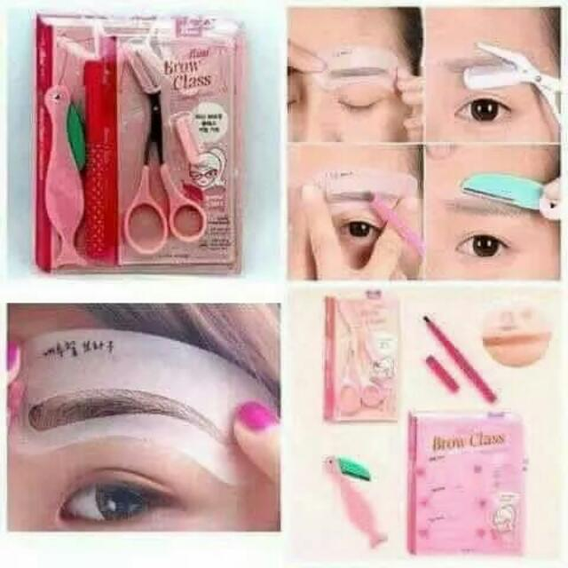 Eyebrow Drawing Guide Brow Class Eyebrow Grooming Kit Set Philippines