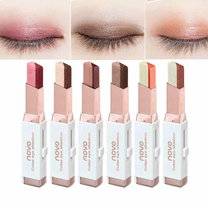NOVO 5099 Double Color Gradient Eye Shadow Makeup Stick Philippines