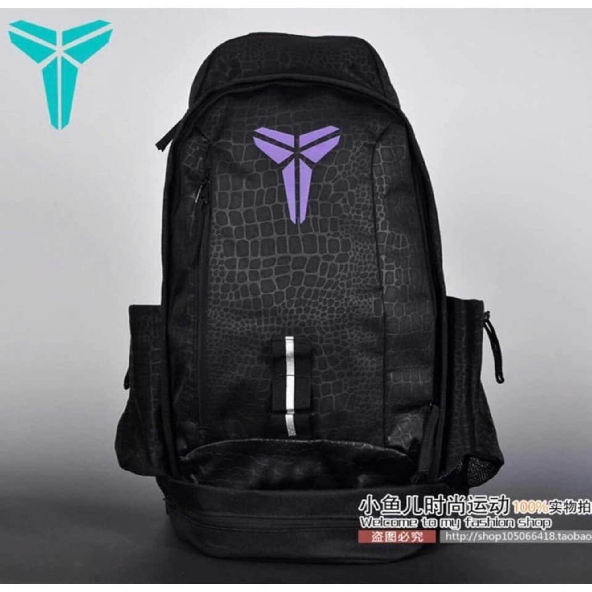 size 40 dd6b4 55f93 Nike Kobe Mamba Backpacks - BLACK VIOLET LOGO