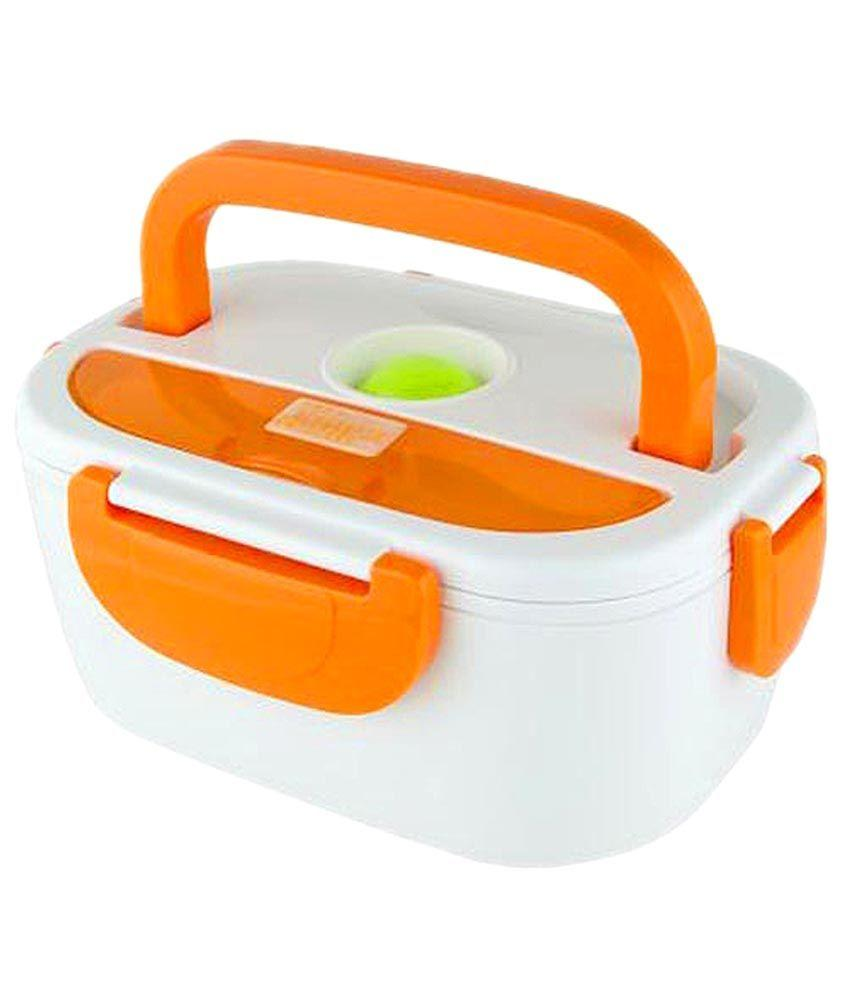 Keimav Heat Preservation Electric Lunch Box Fm-218 (orange) By Mp-Keimav.
