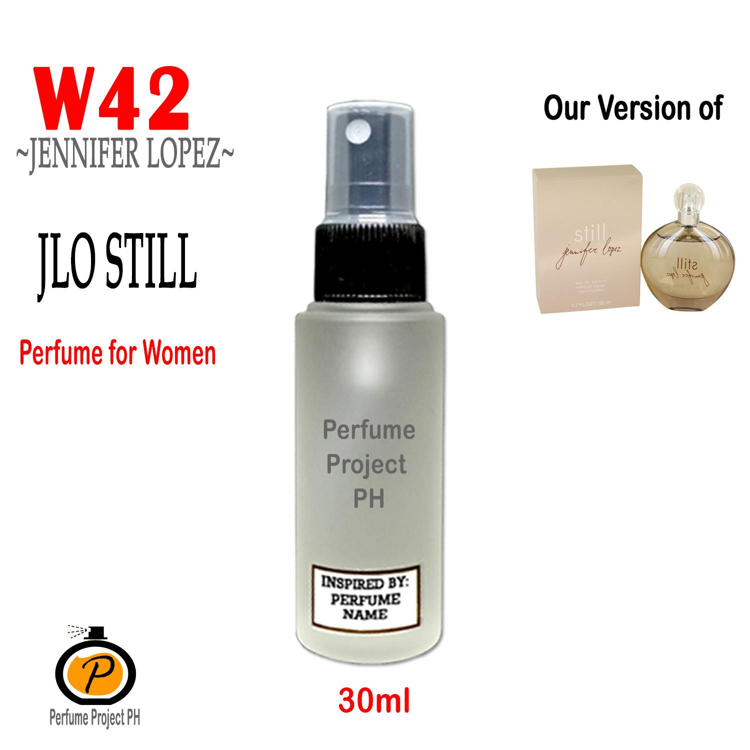 PERFUME PROJECT PH (30ml Round) W42 our version of JLO Still by Jennifer Lopez