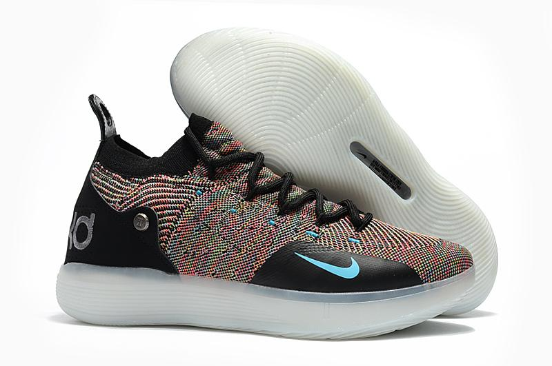 167e1ac2749 Latest Style Nike Zoom KD 11 EP Black Grey Multicolor Kevin Durant Men s  Basketball Shoes NBA