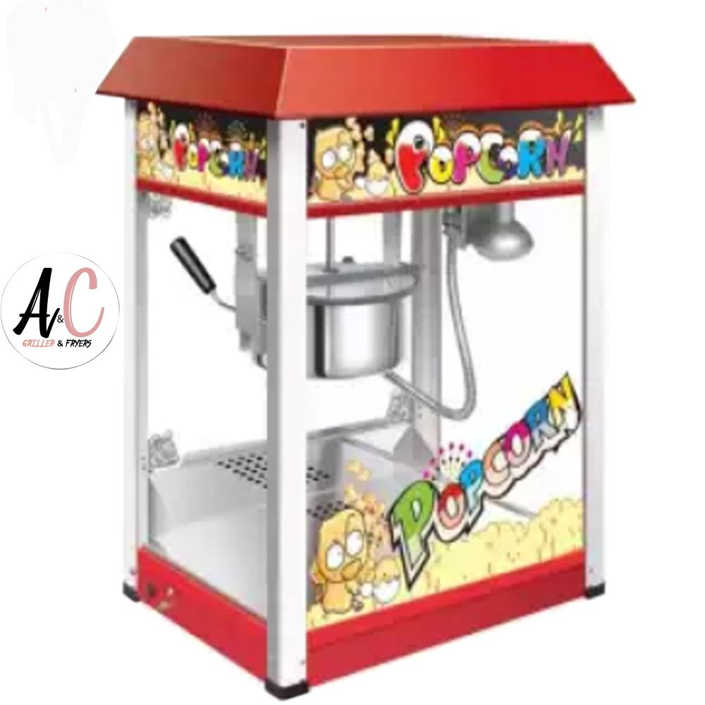 Heavyduty Fullsize Popcorn Maker Machine 8oz By A&c Griller And Fryer.