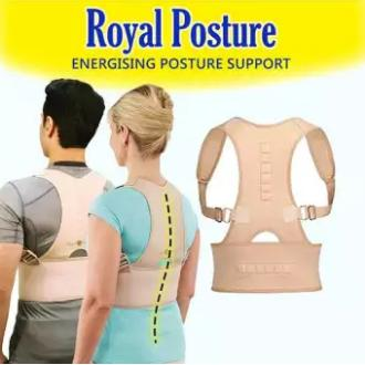 Royal Posture Back Supporter (l/xl) By Hot Lips.