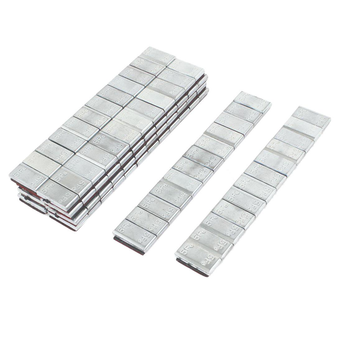 10pcs Adhesive Back Metal Tire Wheel Balance Weight Strip For Car By Xhkjin.