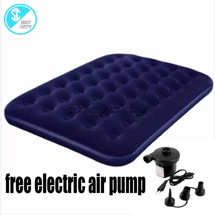 Skycity Ds51 1 Bestway Double Inflatable Air Bed Free Electric Air Pump By Skycity.