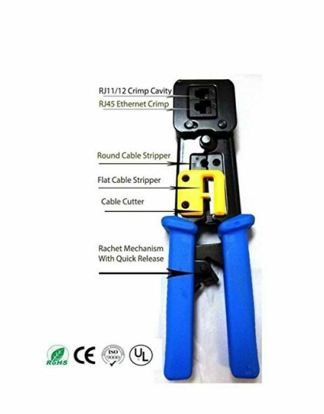 Cable Tester For Sale Pc Prices Brands Specs In Rj45 Socket Wiring Tool Ez Crimper Crimping Passthrough Tagusan Passthru Passtru Connector