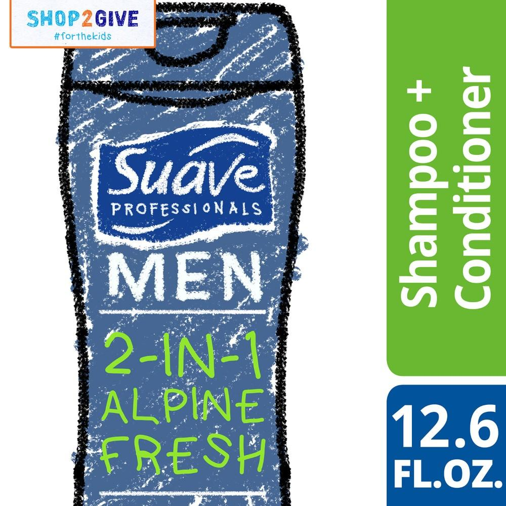 Buy Sell Cheapest Suave Best Quality Product Deals Philippines Store Kids 2 In 1 Smoothers Shampoo And Conditioner 665 Ml Men Alpine Fresh 126oz