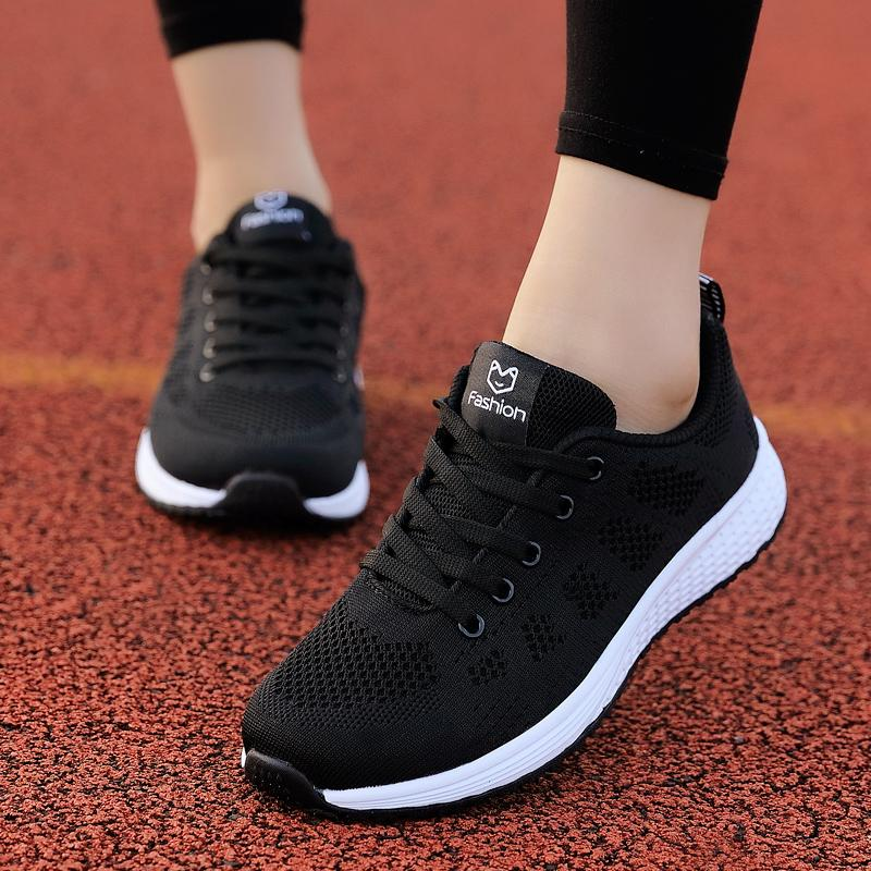 a3b41f63069 2019 Spring New Style Athletic Shoes women Korean Style Versatile Shoe Flat  Students Punched Sheet Surface