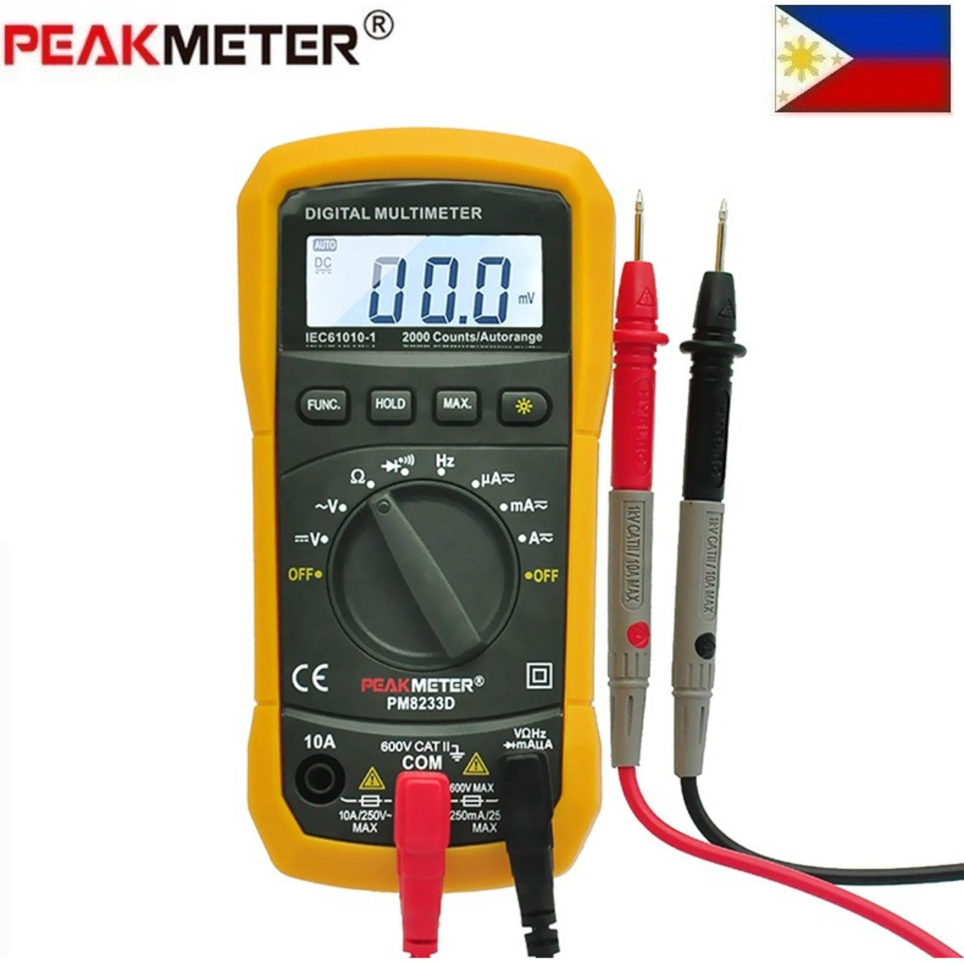 Electrical Tools For Sale Equipment Prices Brands Portable Ac Voltage Test Pencil Non Contact Voltmeter Circuit Detector Peakmeter Pm8233e Digital Lcd Multimeter Ammeter Dc Ohm Volt Tester Multitester Current Resistance