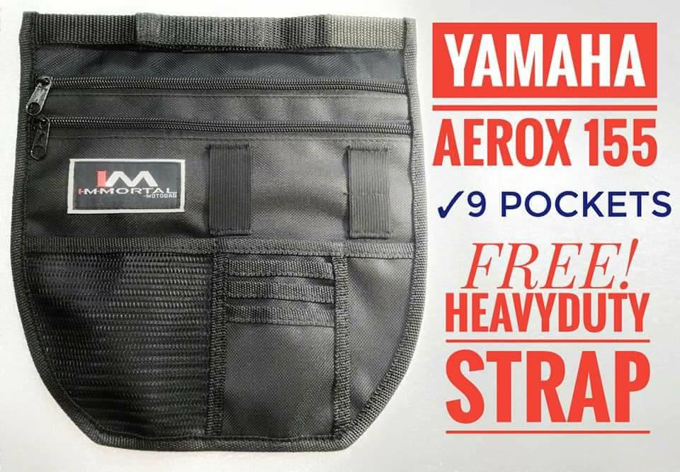 Aerox 155 Immortal Underseat Organizer 9 Pockets By Moto_rs.