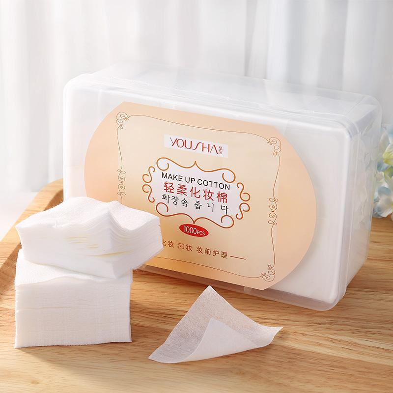 Thin boxed a double-sided cotton puff facial wipe Philippines