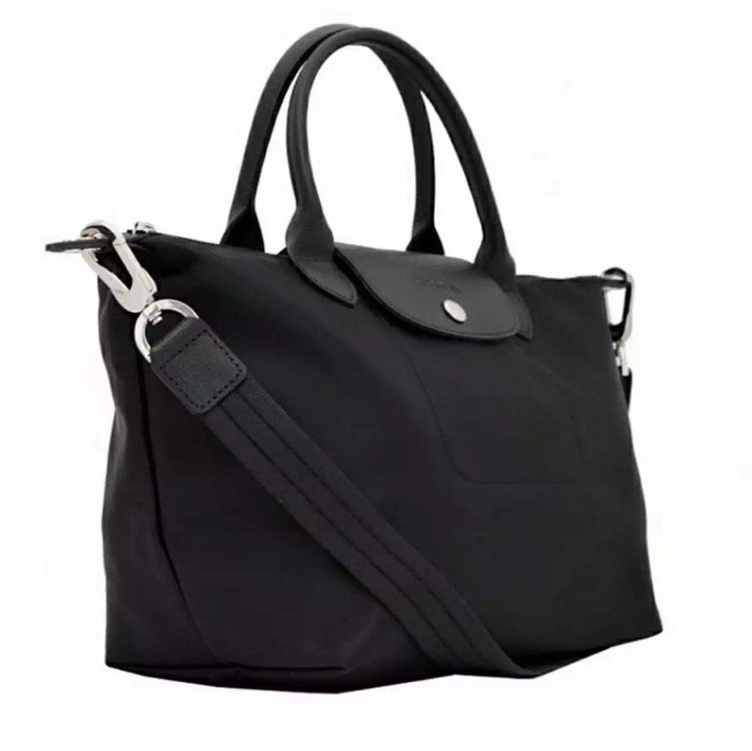 Buy Sell Cheapest Fashionline Medium Champ Best Quality Product Longchamp Le Pliage Neo Tote Khaki Green Bag Black