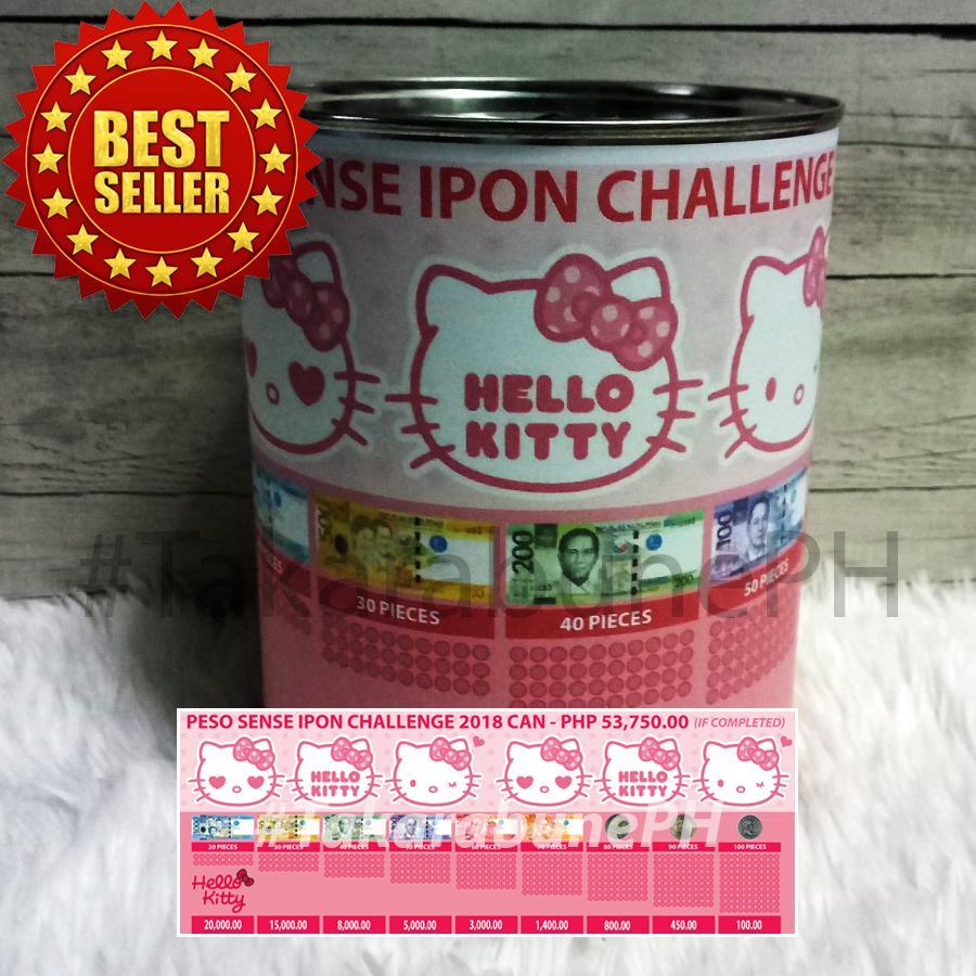 Peso Sense Ipon Challenge Can - Hk1 By Yoeki Merchandise Shop.