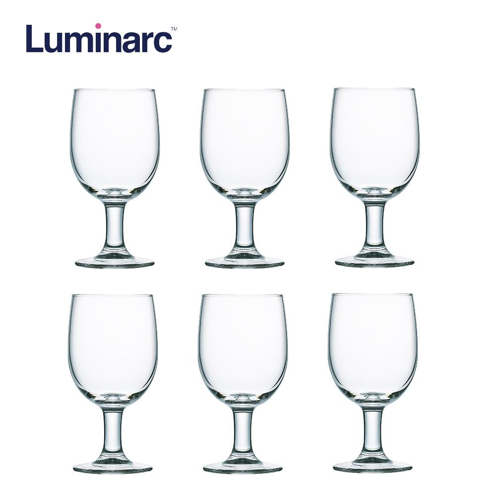 Luminarc Regal Goblet Heat Resistant and Dishwasher Safe Drinking Water Juice Glass Tumbler Tumbler 33cl 6pcs