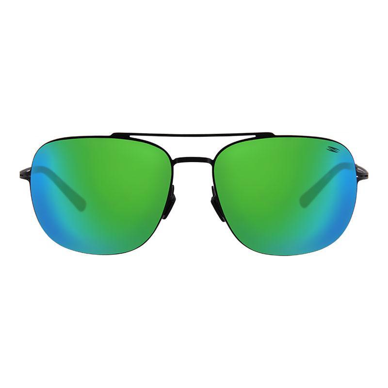 d074a10774a Spyder Lifestyle Eyewear Nolan 3S080 PCM (Matt Black Frame Ice Green Revo  Lens)