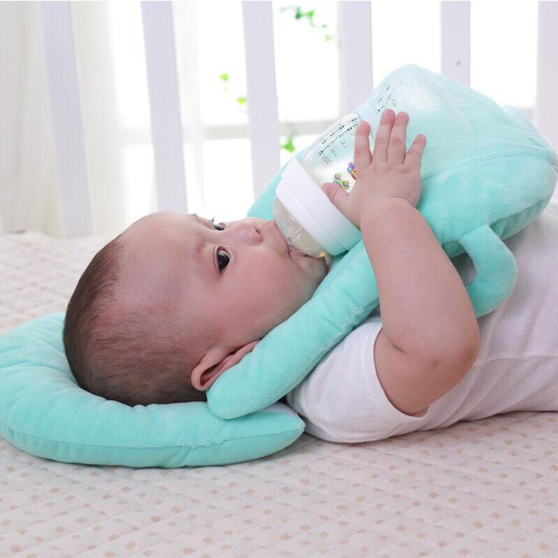 Newborn Pillow Baby 2in1 Bed Feeding By Miss Intrinsic Cute.