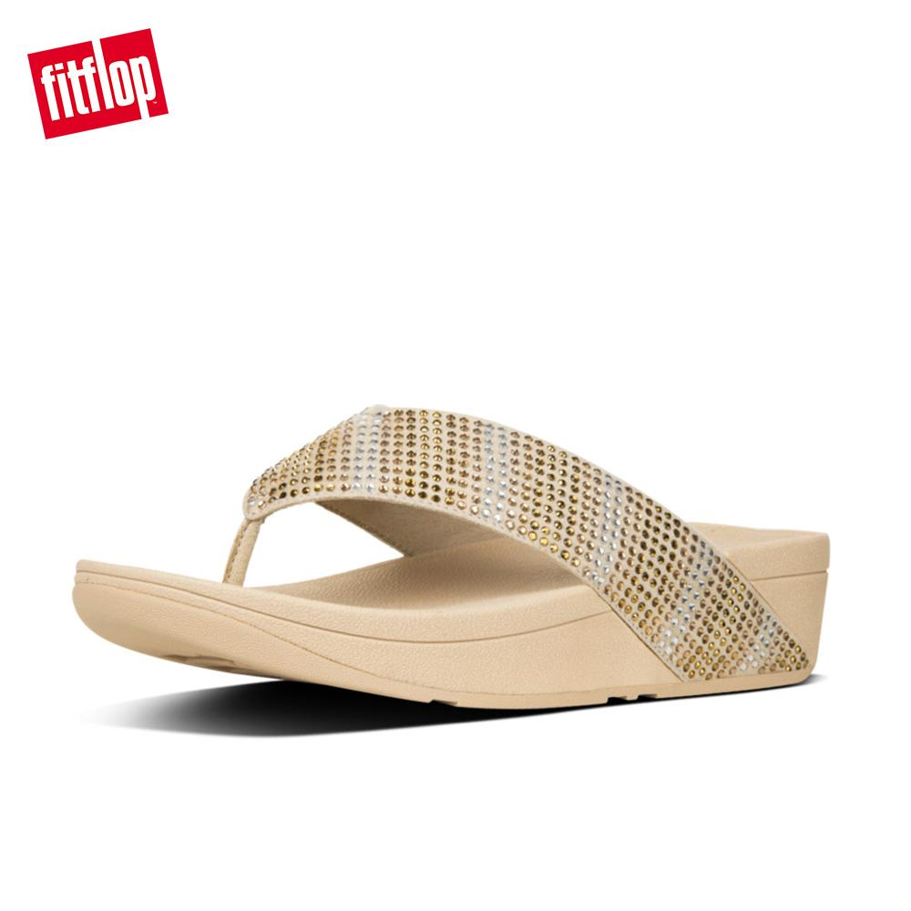 31ec4d99692c Fitflop Women s L70 Strobett Thong Ergonomic Comfortable Cushioned Sandals