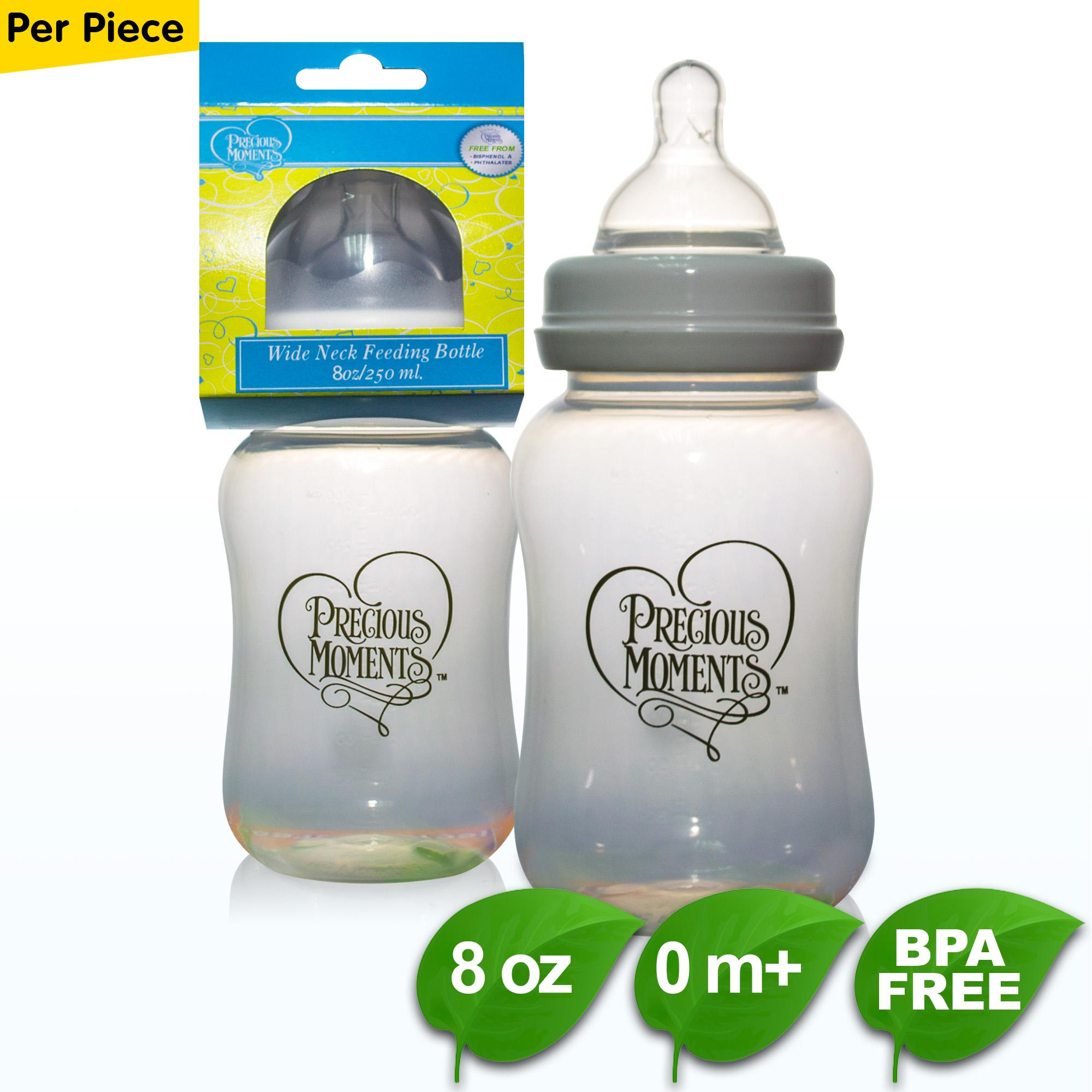 Bpe Free Precious Moments 8oz Wide Neck Feeding Bottle By Coral Babies.
