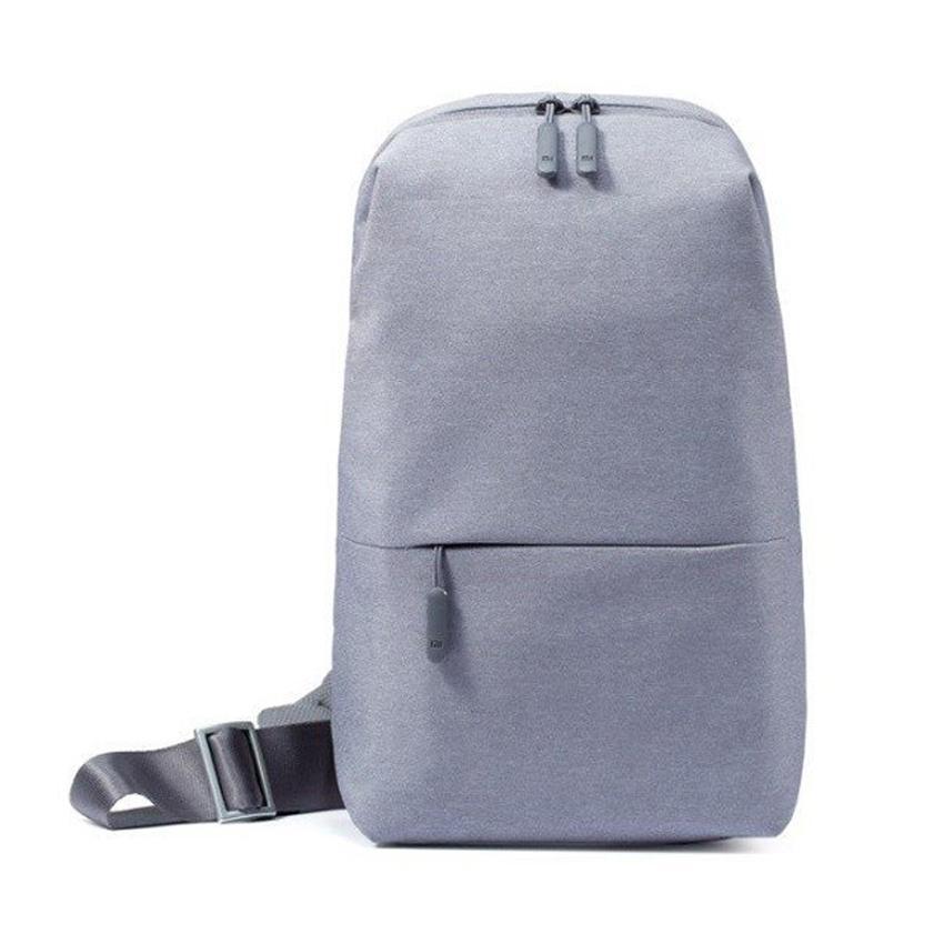 Xiaomi Bag Sling Cross Body Bag Chest Bag Waterproof Shoulder Bag Urban  Leisure Sport Backpack Unisex 2c5879626e14e