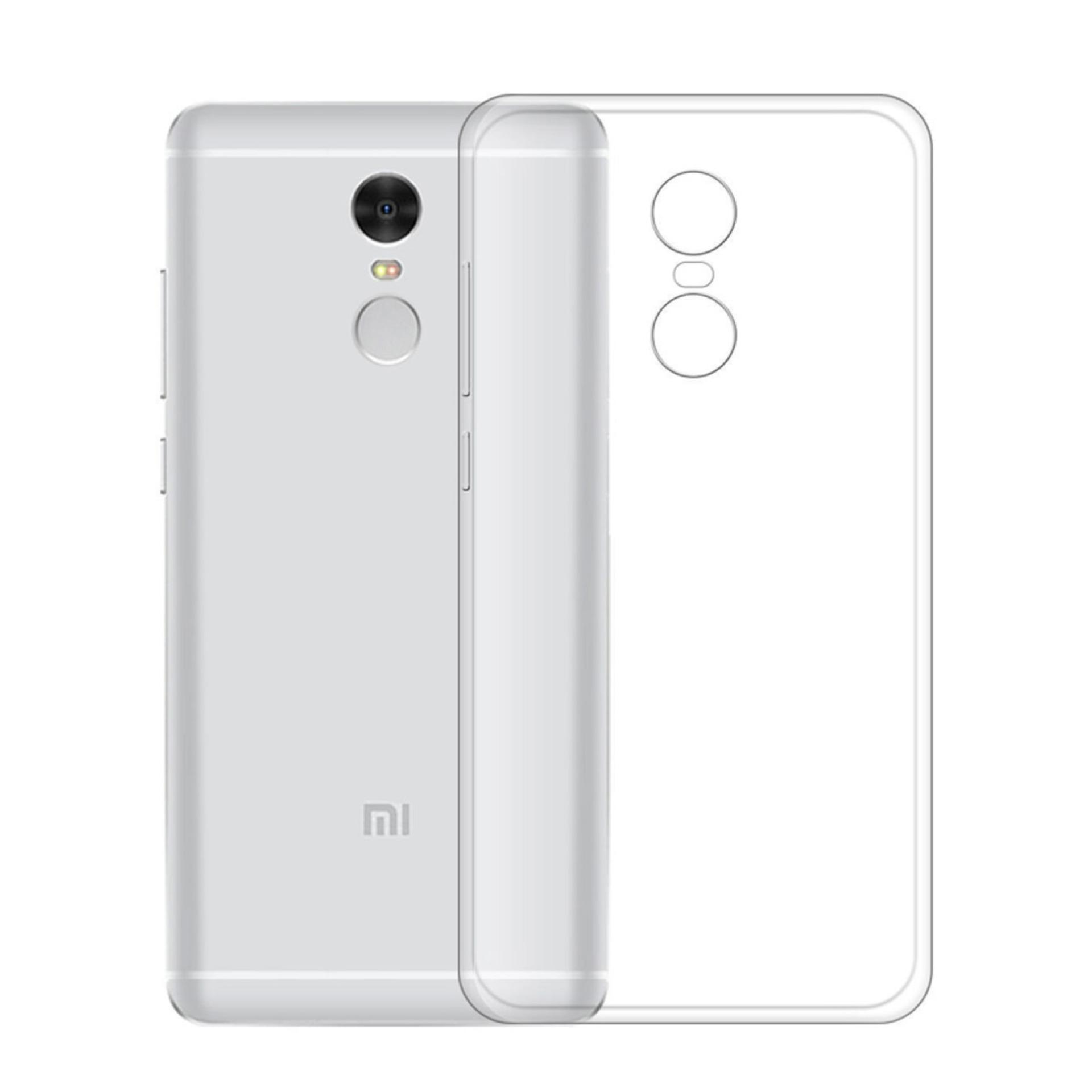 Ultra Thin Soft Silicone Case for Xiaomi Redmi Note 4x (Clear)