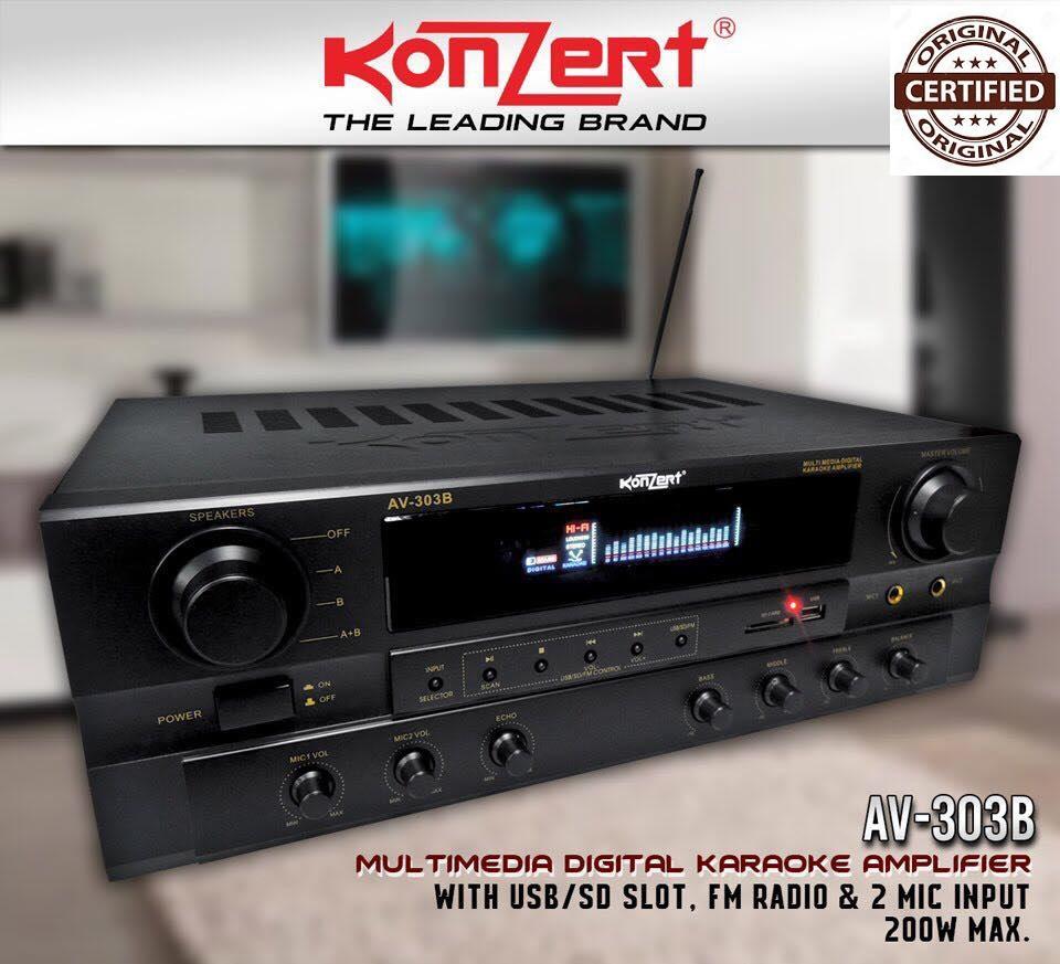 Audio Amplifier For Sale Av Receiver Prices Brands Specs In Stk Scheme Konzert 303b Bt Latest Model Karaoke