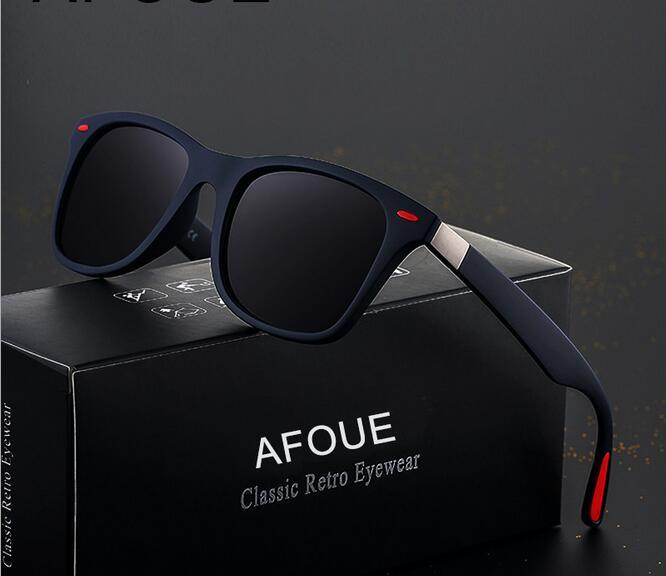 9d8bd63b62c Classic Store men s Polarized Sunglasses fashion Retro UV400 protection Sun  Glasses Vintage Eyewear mirror lens For