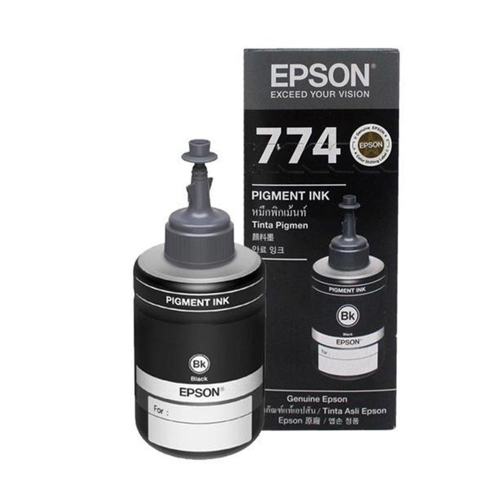 Epson Philippines Ink Cartridges For Sale Prices Reviews Lazada Tinta T664 T7741 Pigent Black Bottle M100 And M200