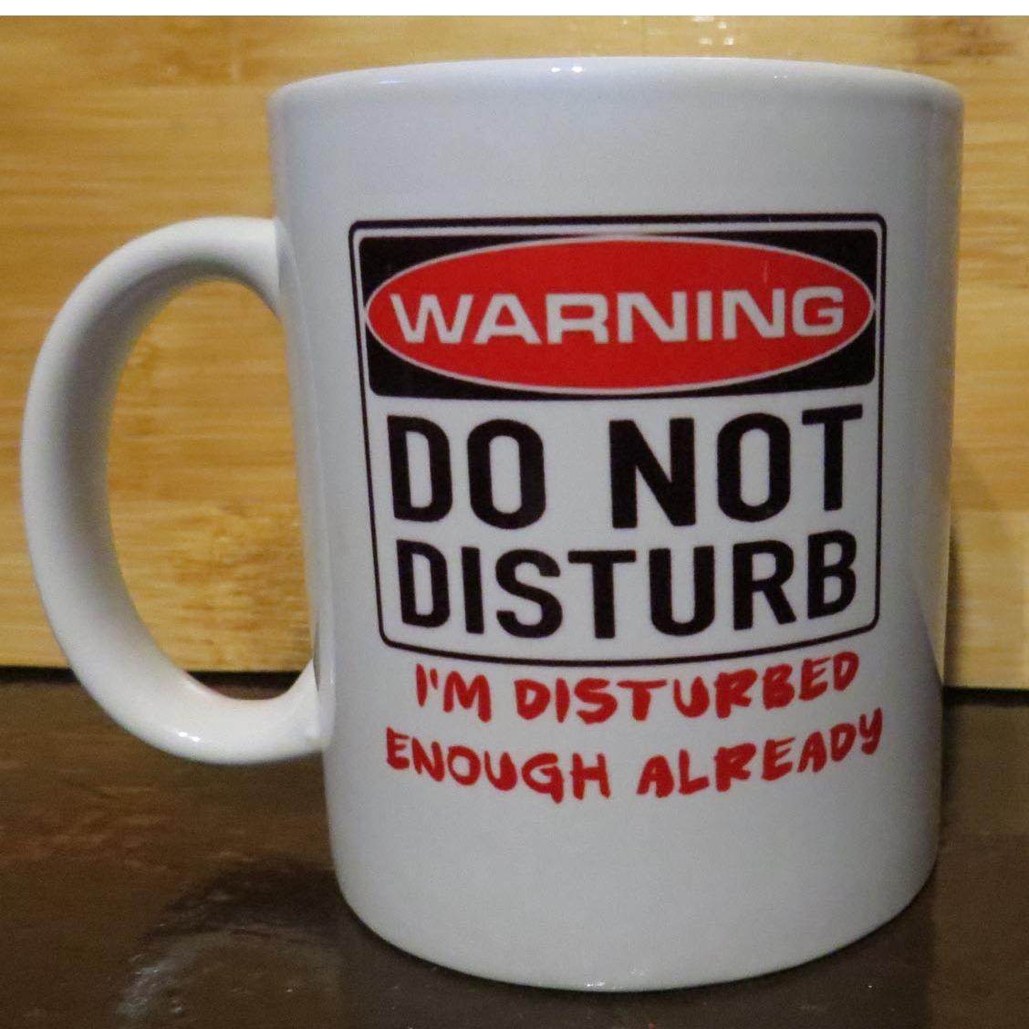 Statement Coffee Mug: Warning