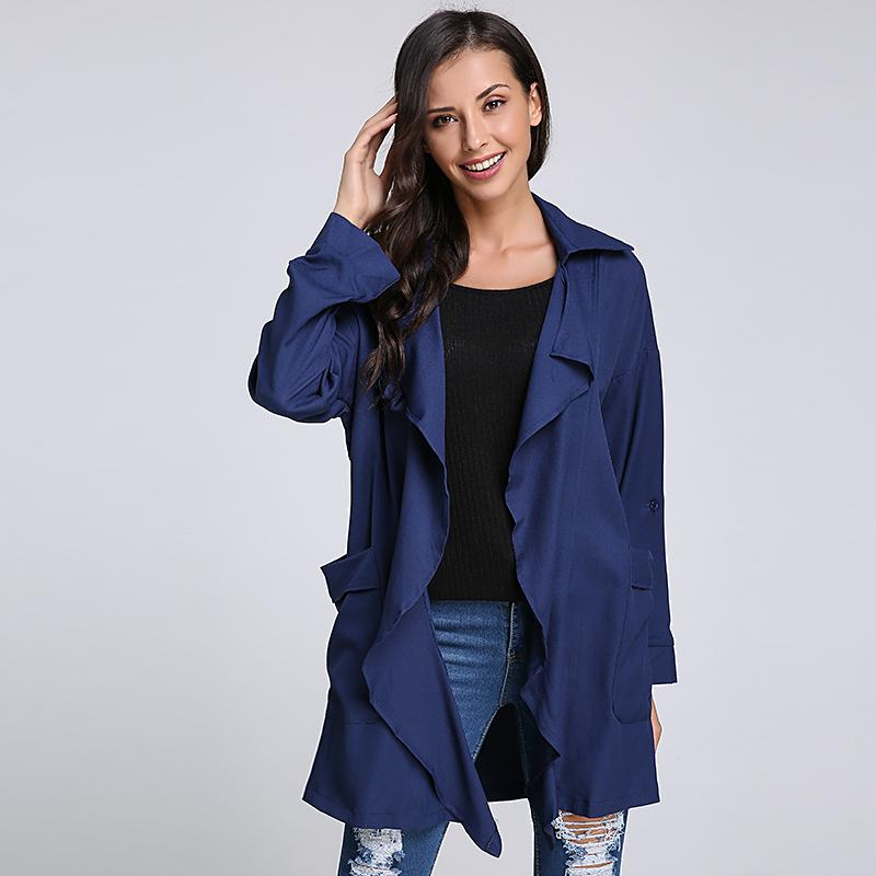 Ankle Length Trench Coat Womens Tradingbasis
