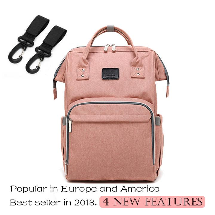 648513cb79 Diaper Bag Backpack Multi-Function Waterproof Maternity Nappy Bags for Mom  Travel