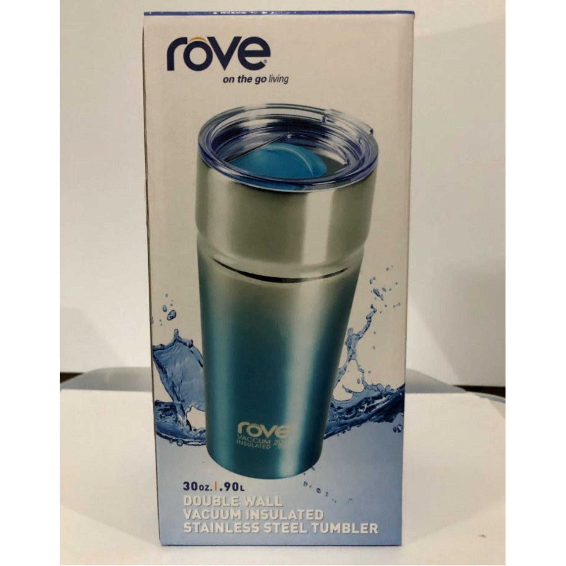 Tumble-Rove Double Wall Vacuum Insulated Stainless Steel Tumbles (30 Oz. / 0.90liter) By Raine & Duke Merchandising.