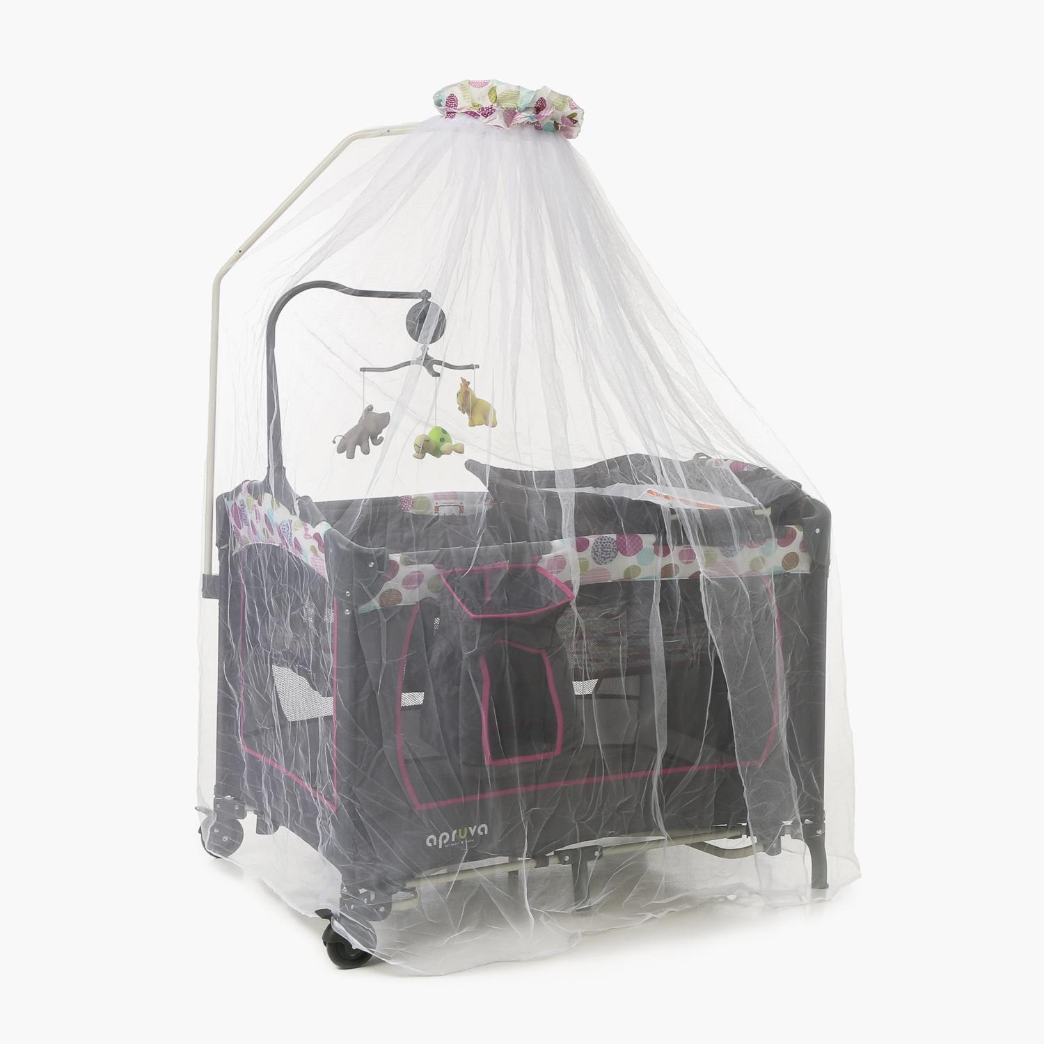 Apruva Pack & Play Pp677ne Playpen With Princess Net (pink) By The Sm Store.