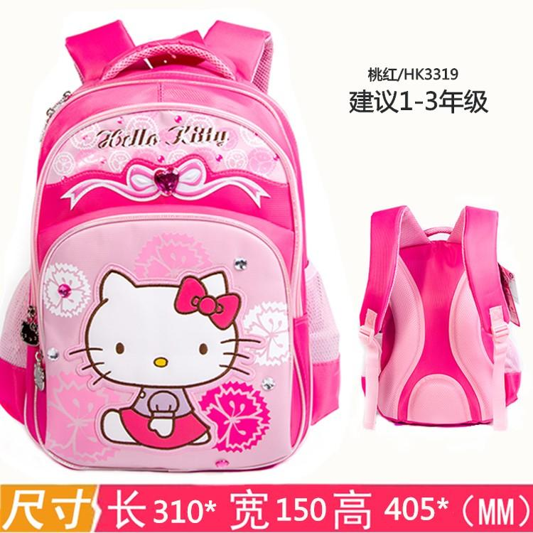 43630562f Hello kitty Children's School Bags 1-3-5 Grade Young Student's girl women 6