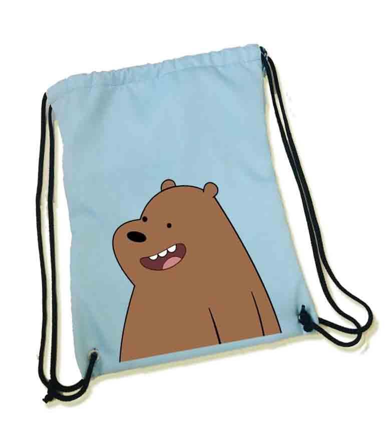 We Bare Bears String Bag Affordable Merchs Gift For Christmas