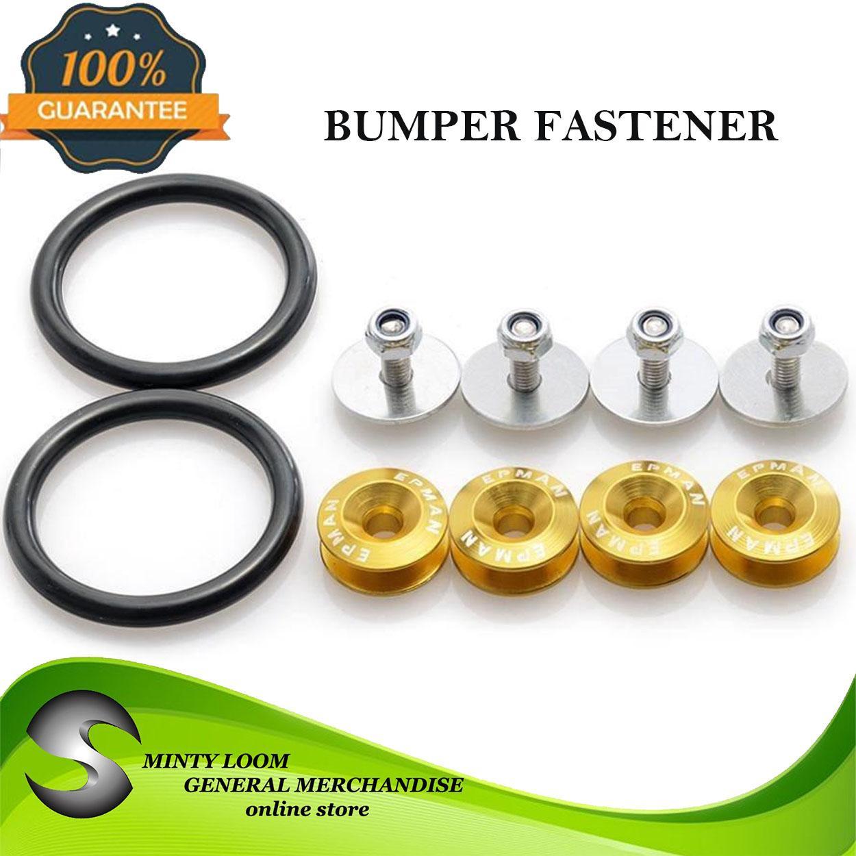 Jdm Password Bumper Fastener(gold) By Minty Loom General Merchandise.