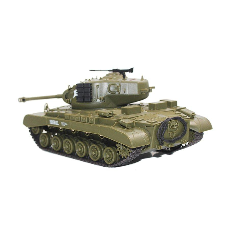 OSMAN 2 4G Infrared RC Battle M26 Pershing Tank Cannon & Emmagee Remote  Control Tank