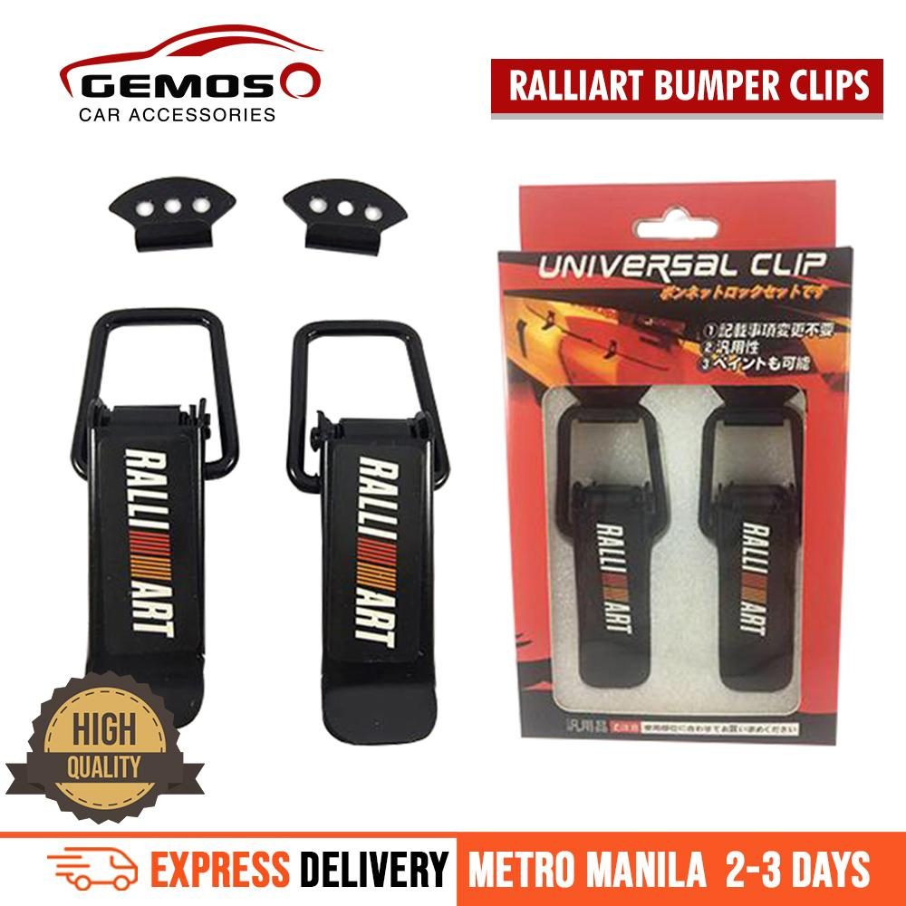 Ralliart Quick Release Bumper Clip For Mitsubishi Cars By Gemos Car Accessories.