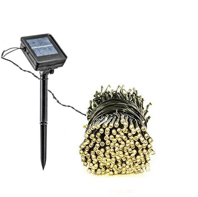 100 LED Outdoor Solar Powered String Christmas Lights YE-1618