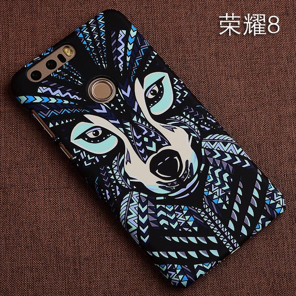 South Korea Creative Night Light Huawei Honor 8 Youth Edition Phone Case Relief Honor 8 Dull