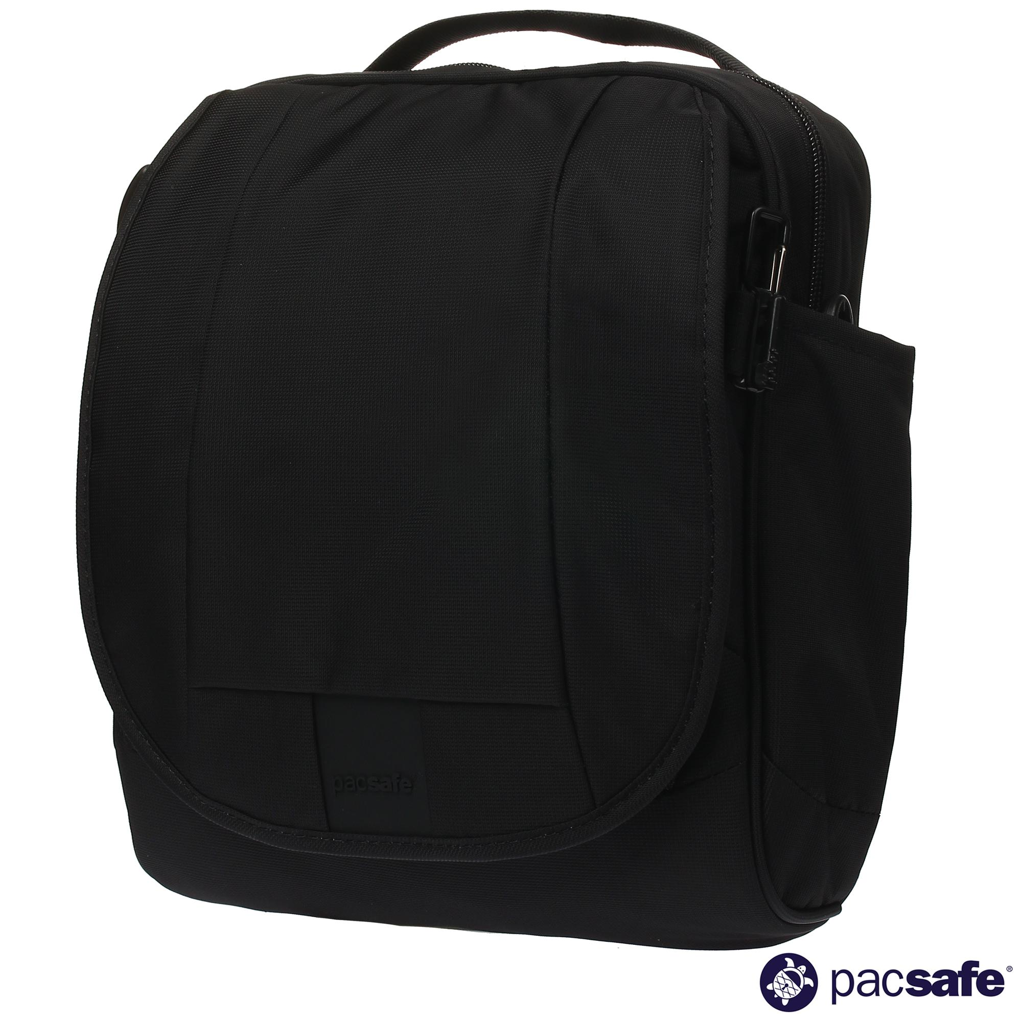 cfe4aa8beb49 Pacsafe Metrosafe LS200 Medium Crossbody Bag  30420 (Black)
