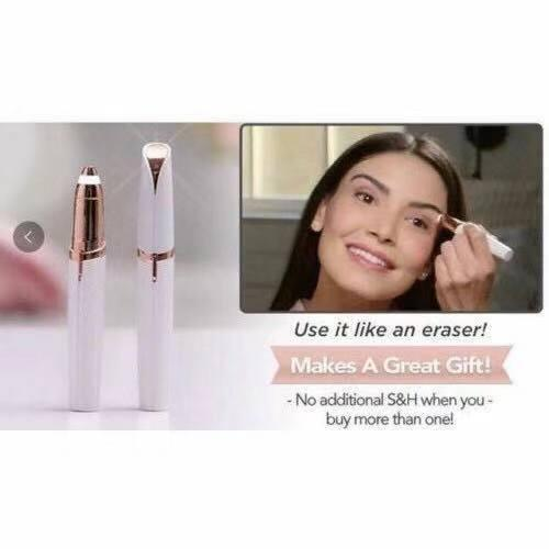 New Flawless Brows Electric Eyebrow Body Face Hair Trimmer Philippines