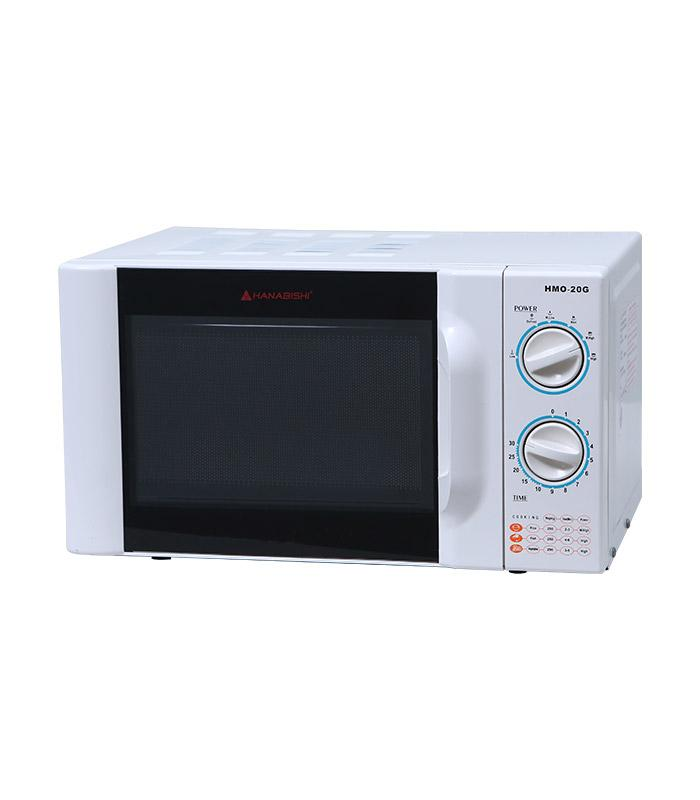 Hashi Hmo 20g Microwave Oven Push On White