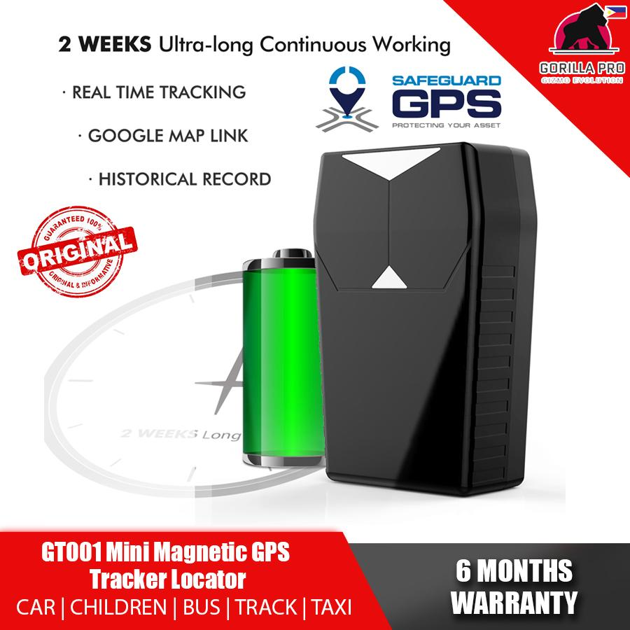 GPS-ONE (MAGNETIC) GT-001 Waterproof Magnetic magnet Vehicle Car  GSM/GPRS/LBS GPS Tracker GPSONE Automobiles Real Time Tracking Anti-theft  Device GPS