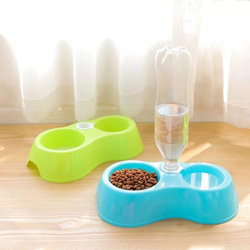 Pet Feeder Ceramic White Bulldog Bowl Set With Dining Table Drink Water Pets Supplies Non-slip Feeding Dishes Quality First Home & Garden